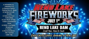 Rend Lake Fireworks Event Shuttle